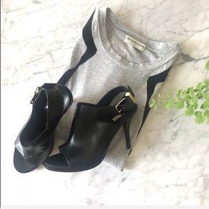 Balenciaga Embossed Glove Sandals